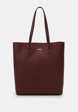 HUGO - DOWNTOWN - Shopping Bag - dark red