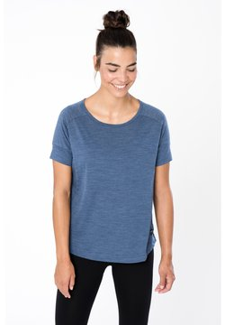 super.natural - ISLA TEE - T-Shirt basic - denim