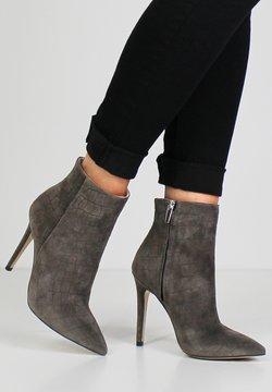 Evita - ALINA - High Heel Stiefelette - taupe
