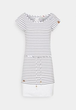 Ragwear - SOHO STRIPE - Vestido ligero - light grey