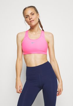 Nike Performance - BRA PAD - Soutien-gorge de sport - pink beam/new green