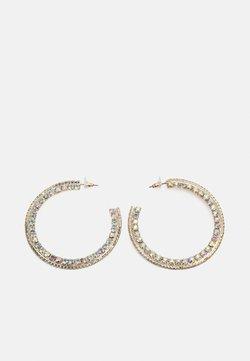 sweet deluxe - DEETJE - Earrings - gold-coloured/crystal