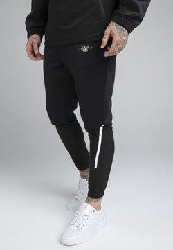 SIKSILK - TRANQUIL TRAINING PANT - Jogginghose - black/grey