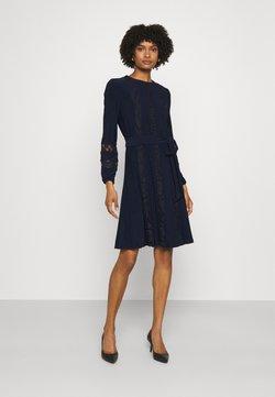 Lauren Ralph Lauren - MID WEIGHT DRESS COMBO - Cocktailkleid/festliches Kleid - lighthouse navy