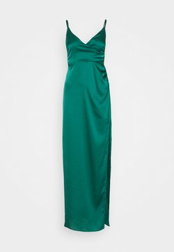 Missguided - CAMI WRAP GOWN - Occasion wear - green