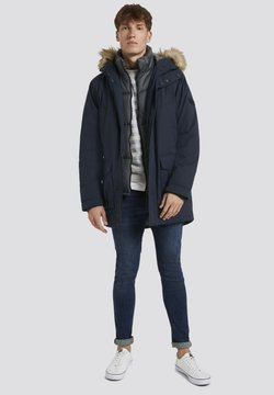 TOM TAILOR DENIM - Wintermantel - sky captain blue
