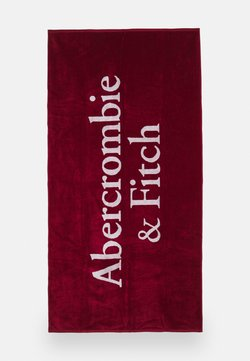 Abercrombie & Fitch - BEACH TOWEL UNISEX - Beach accessory - red