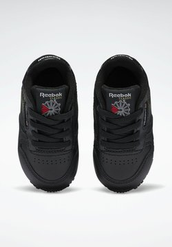 Reebok Classic - CLASSIC LEATHER SHOES - Lauflernschuh - black