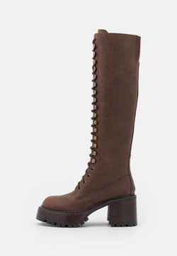 Jeffrey Campbell - LOCUST - Lace-up boots - brown