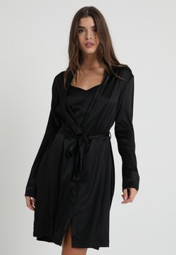 La Perla - REWARD SHORT ROBE - Badjas - black