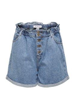 ONLY Carmakoma - PAPERBAG - Jeansshort - medium blue denim