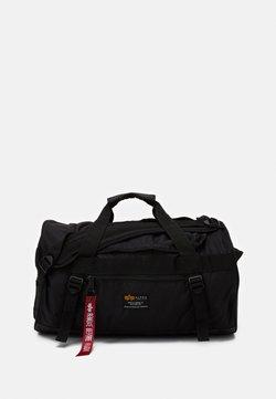 Alpha Industries - CREW DUFFLE BAG UNISEX - Sac week-end - black
