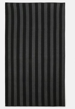 Pier One - BEACH TOWEL 180x100CM 500 GSM - Strandtuch - black/dark grey