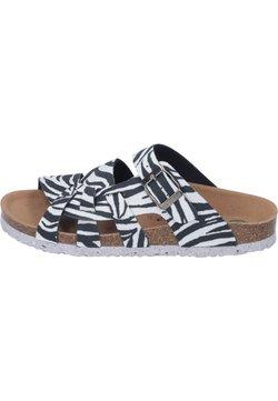 Dr. Brinkmann - Pantolette flach - zebra