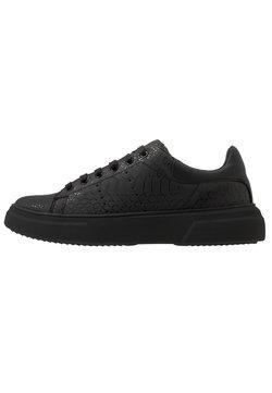 Topman - DRONE EMBOSS - Sneakers laag - black
