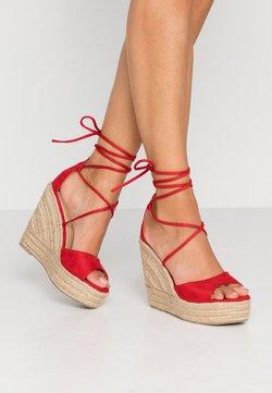 RAID - MAREA - Korolliset sandaalit - red