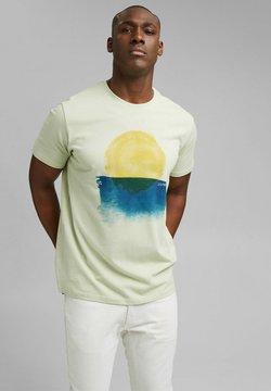 Esprit - ARTWORK - T-Shirt print - pastel green
