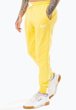 Hype - SCRIPT - Jogginghose - yellow