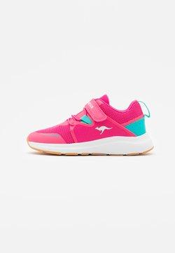 KangaROOS - KB-RACE - Sneakers laag - daisy pink/turquoise