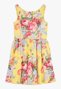 Polo Ralph Lauren - FIT DRESSES - Freizeitkleid - yellow multi