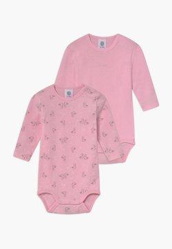 Sanetta - LONGSLEEVE BABY 2 PACK - Body - sorbet