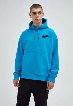 PULL&BEAR - Bluza z kapturem - royal blue
