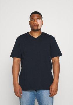 Johnny Bigg - ESSENTIAL V NECK TEE - T-shirt basique - navy
