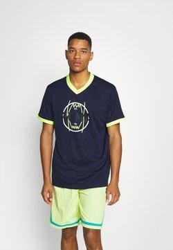 Puma - PARQUET VINTAGE - T-shirt imprimé - peacoat