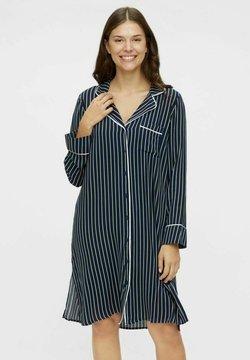 MAMALICIOUS - Camicia da notte - navy blazer