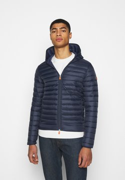 Save the duck - DONALD HOODED JACKET - Winterjacke - blue black