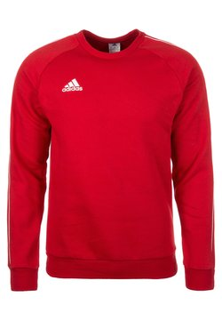 adidas Performance - CORE ELEVEN FOOTBALL LONG SLEEVE PULLOVER - Bluza - red