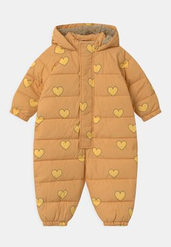 TINYCOTTONS - HEARTS PADDED ONE-PIECE - Skipak - camel/yellow