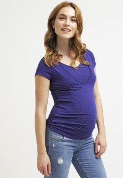 Pomkin - LISE - T-shirt med print - indigo/rot