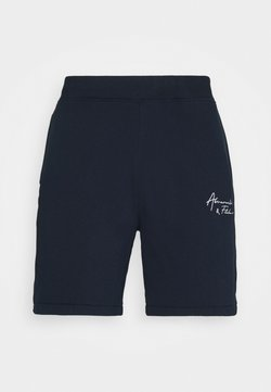 Abercrombie & Fitch - HIP HIT LOGO  - Shorts - navy