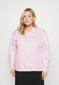 Nike Sportswear - AIR HOODIE PLUS - Sweatshirt - pink foam