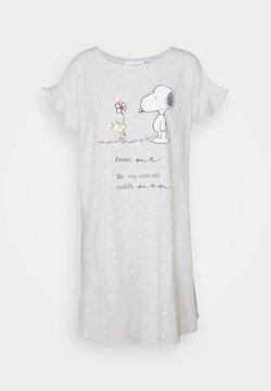 Women Secret - SHORT NIGHTDRESS - Nachthemd - light melange