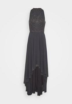Lace & Beads Tall - AVERY HIGH LOW DRESS - Iltapuku - charcoal