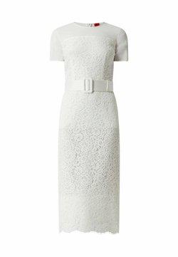 HUGO - AUS SPITZE MODELL 'KELACY' - Cocktailkleid/festliches Kleid - offwhite meliert