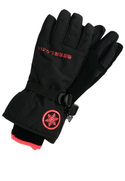 Superdry - ULTIMATE SNOW SERVICE GLOVE - Fingervantar - black/hyper pink
