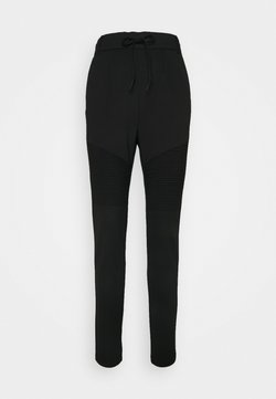 ONLY Tall - ONLPOPTRASH EASY BIKER PANT - Jogginghose - black