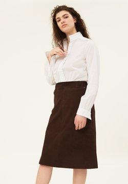 Lexington - SUSAN - A-linjekjol - dark brown