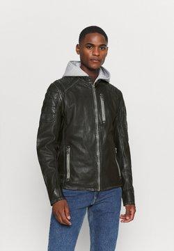 Gipsy - HALOW - Leren jas - black