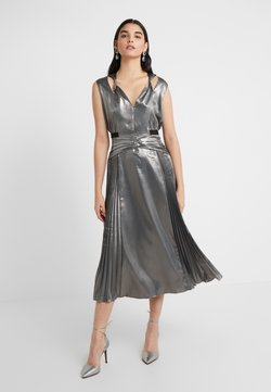 Three Floor - MERCURY DRESS - Vestito elegante - pewter metallic