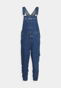 Karl Kani - ORIGINALS DUNGAREE - Tuinbroek - blue