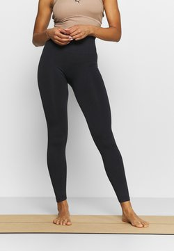 Hunkemöller - FLEX LEGGING SEAMLESS - Tights - black