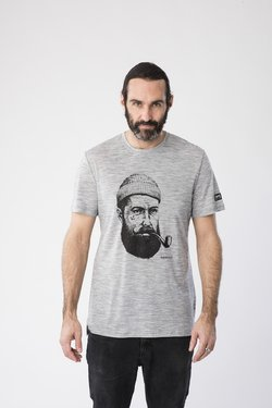 super.natural - GRAPHIC - T-Shirt print - grey