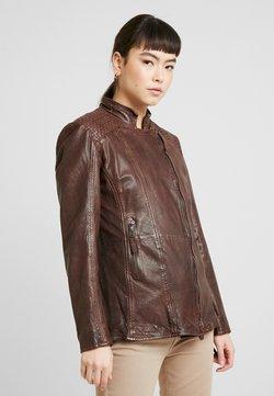 Gipsy - GGSAIJA LLAV - Leren jas - brown
