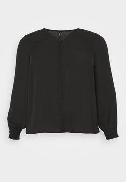 Vero Moda Curve - VMACACIA VNECK - Bluse - black