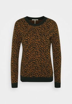 Scotch & Soda - Strickpullover - brown/black