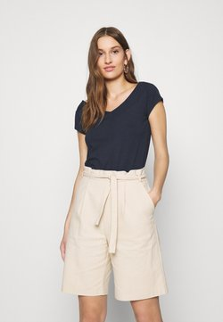 Lindex - NINA - T-shirt basic - navy
